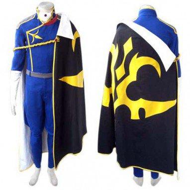 Code Geass Jeremiah Gottwald Halloween Cosplay Costume