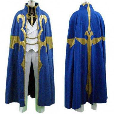 Code Geass Suzaku Kururugi Halloween Cosplay Costume