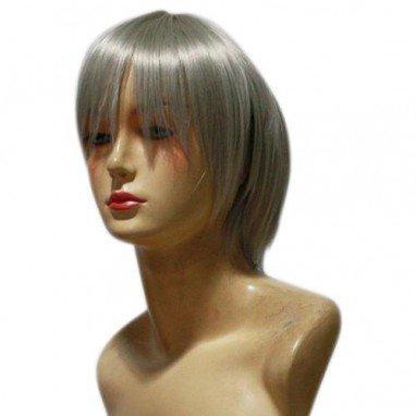 D.Gray Man Allen Walker Halloween Cosplay Wig