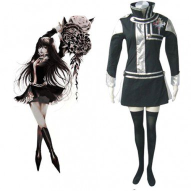 D.Gray  Man Halloween Cosplay Costume