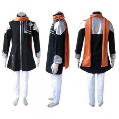 D.Gray Man Lavi Rabi Halloween Cosplay Costume