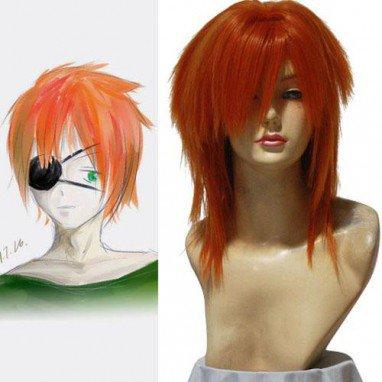 D.Gray-man Ravi.Bookman.Jr 50cm Halloween Cosplay Wig