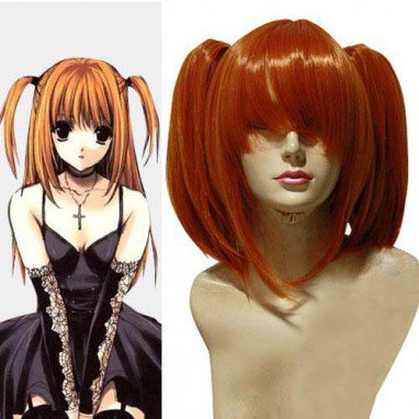 Death Note Amane Misa Halloween Cosplay Wig