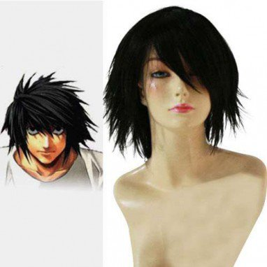 Death Note Lawliet Ryuuzaki Halloween Cosplay Wig