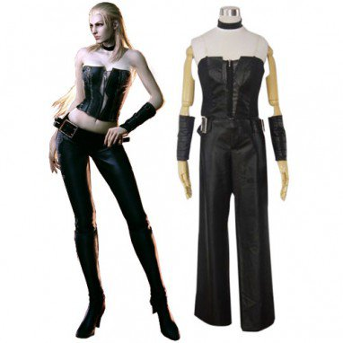 Devil May Cry 4 Trish Halloween Cosplay Costume