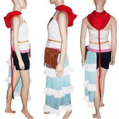 Classic Final Fantasy XII Yuna Halloween Cosplay Costume