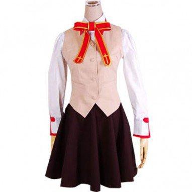 Fate stay night Homurabara Gakuen Girl\'s Uniform Halloween Cosplay Costume