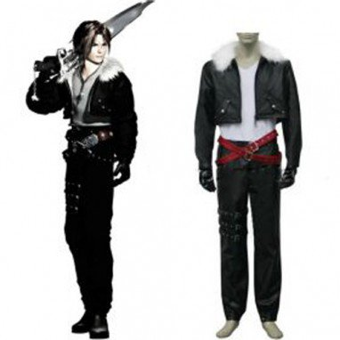 Final Fantasy Squall Halloween Cosplay Costume