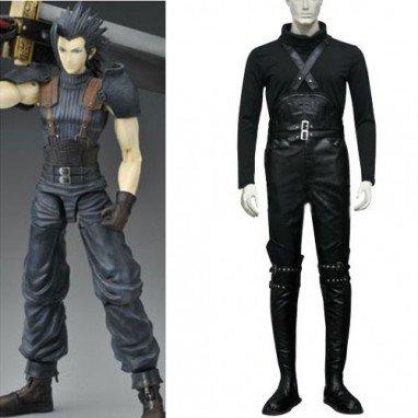 Final Fantasy VII Crisis Core Zack Fair Halloween Cosplay Costume