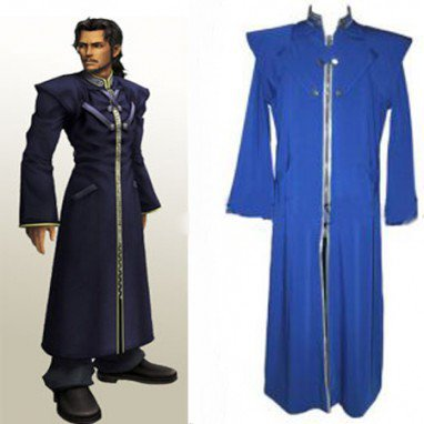 Final Fantasy VII Reeve Tuesti Halloween Cosplay Costume