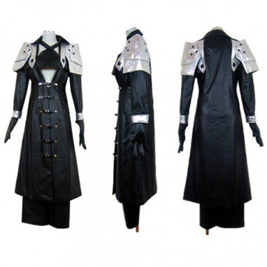 Final Fantasy VII Sephiroth DeluxeCosplay Costume - Halloween