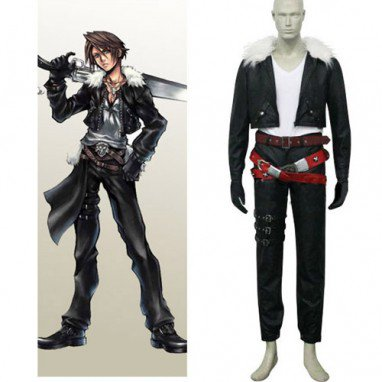 Final-Fantasy VIII Squall Halloween Cosplay Costume