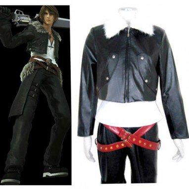 Final Fantasy VIII Squall Leonhart Halloween Cosplay Costume