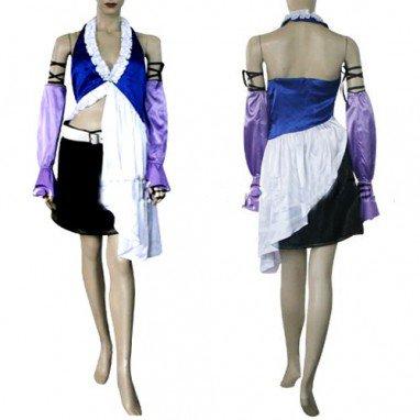 Final Fantasy XII Yuna Lenne Song Halloween Cosplay Costume