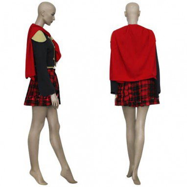 Final Fantasy XIII Agito Girl Uniform Halloween Cosplay Costume