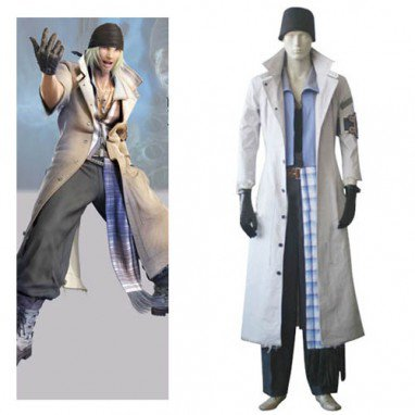 Final Fantasy XIII Snow Villiers Halloween Cosplay Costume