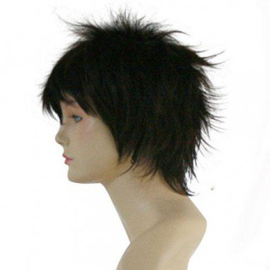 Gin Tama Hijikata Toushirou Halloween Cosplay Wig