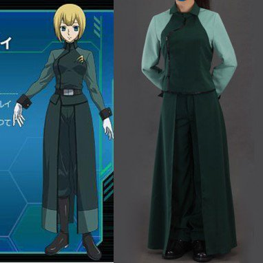 Gundam 00 A-LAWS Woman\'s Halloween Cosplay Costume