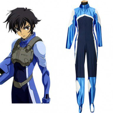 Gundam 00 Setsuna F Seiei Pilot Suits Halloween Cosplay Costume