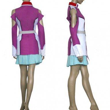 Gundam Seed Destiny Stellar Louisser Military Uniform Halloween Cosplay