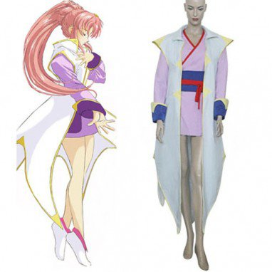 Gundam Seed Lacus Clyne Fighting Halloween Cosplay