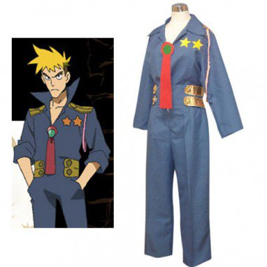 Gurren Lagann Kittan Halloween Cosplay Costume