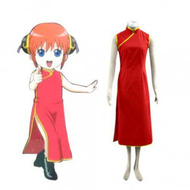 Perfect Gin Tama Kagura Halloween Cosplay Costume