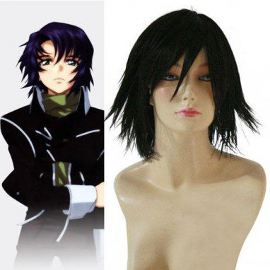 Popular Mobile Suit Gundam SEED Kira Yamato Halloween Cosplay Wig