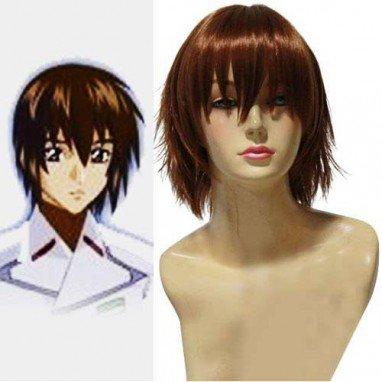 Top Mobile Suit Gundam SEED Kira Yamato Halloween Cosplay Wig