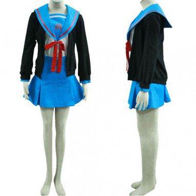 Haruhi Suzumiya Yuki Nagato Halloween Cosplay Costume