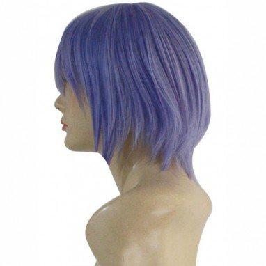 Haruhi  Suzumiya no Yuutsu Nagato Yuki Halloween Cosplay Wig