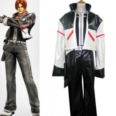 Classic King of Fighters Kyo Kusanagi Halloween Cosplay Costume
