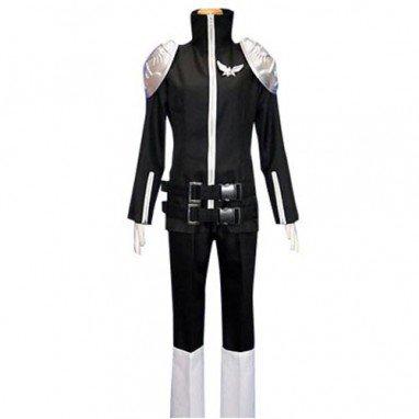 Katekyo Hitman Reborn Black Byakuran Halloween Cosplay Costume