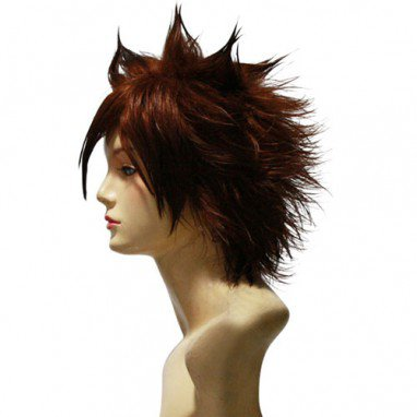 Katekyo Hitman Reborn Tsunayoshi Sawada Commission Halloween Cosplay Wig