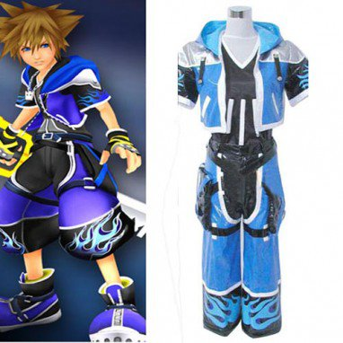 Kingdom Hearts 2 Sora Halloween Cosplay Costume