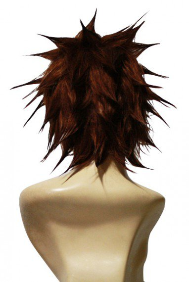 Kingdom Hearts II Sora SPIKY Halloween Cosplay Wig