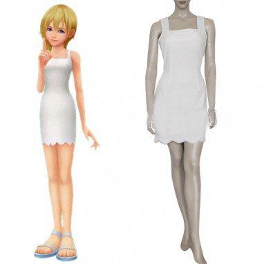 Kingdom Hearts Namine Halloween Cosplay Costume