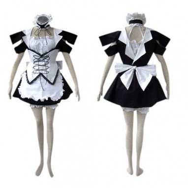 Suitable Black Lolita cosplay costume