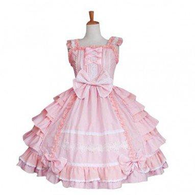 Bow Decoration Sweet Lolita Halloween Cosplay Dress