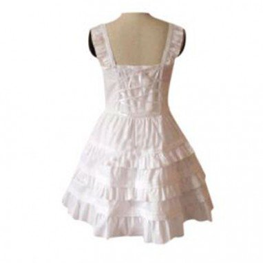 Cheap Garden Style Pink Broken Flower Dress Lolita Halloween Cosplay Costume