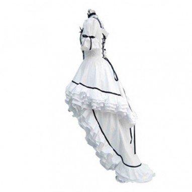 Classic White Lolita Halloween Cosplay Costume