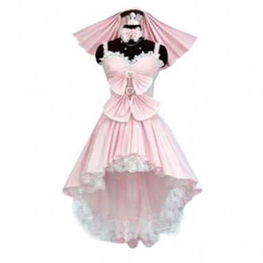 Heart Shaped Neck Lolita Halloween Cosplay Costume