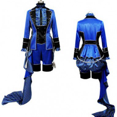 Kuroshitsuji Ciel Phantomhive Classic Full Dress Lolita Halloween Cosplay