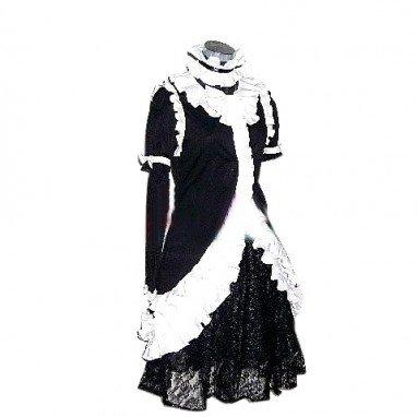 Princess Princess Black Dress Lolita Halloween Cosplay Costume