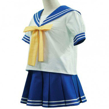Lucky Star Ryoo Academy Female Summer Uniform Halloween Cosplay