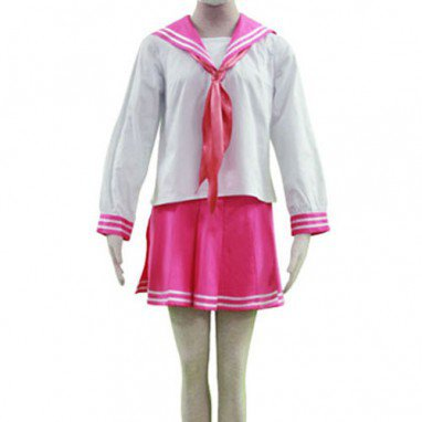 Lucky Star Ryoo Academy Female Winter Uniform Halloween Cosplay Costume