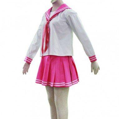 Lucky Star Ryoo Academy Female Winter Uniform Halloween Cosplay Costume