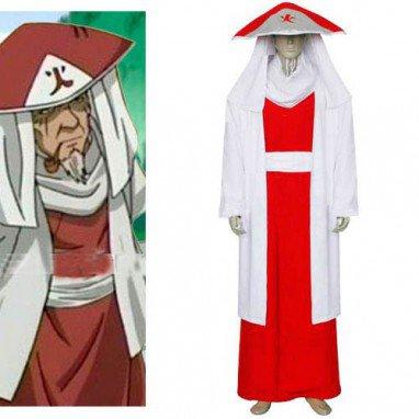 Naruto Sarutobi 3rd Hokage Halloween Cosplay Costume