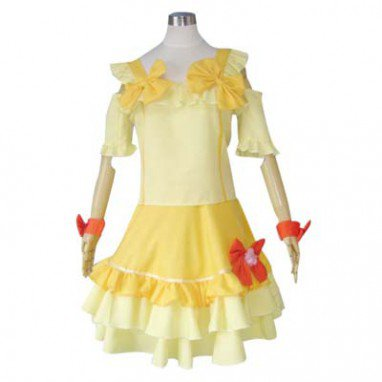 Popular Macross Frontier Ranka Lee Halloween Cosplay Costume
