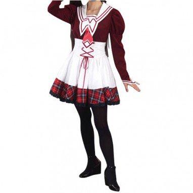 School Girl Uniform Gothic cosplay costume